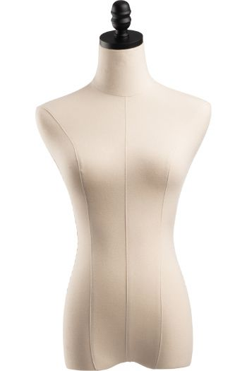 Female Display Dress Form Torso