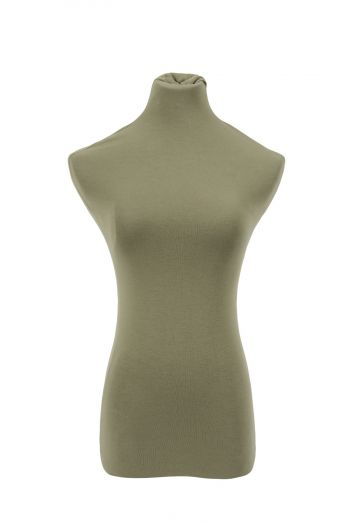 Female Dress Form Cover - Army Green