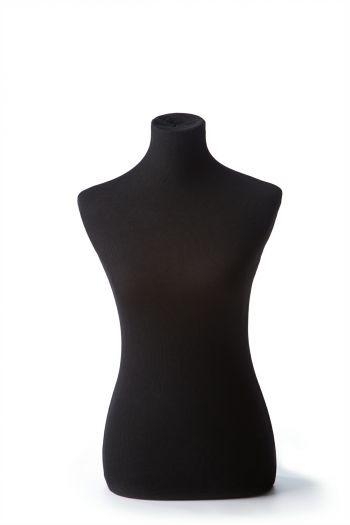 Black Female Dressform Torso