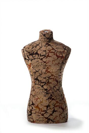 Female Dressform Cover - Luxurious Light Floral