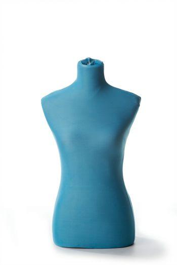 Female Dressform Cover - Blue