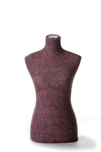 Female Dressform Cover - Purple Floral