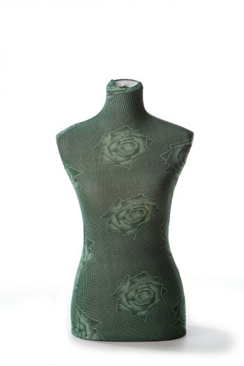 Female Dressform Cover - Green Floral