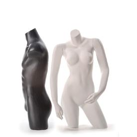 Plastic Torso Mannequin Forms