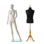 difference between a dressform and a mannequin
