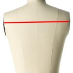 back width measurements for a dress form