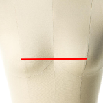 bust spread or apex to apex measurements for a dress form