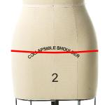 hip measurements for a dress form