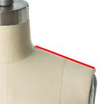 shoulder measurements for a dress form
