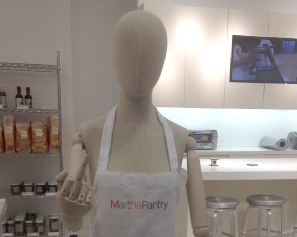 mannequin giving middle finger to customers