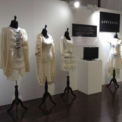 our TSC mannequins in use by SpinExpo under our new mannequin rental program